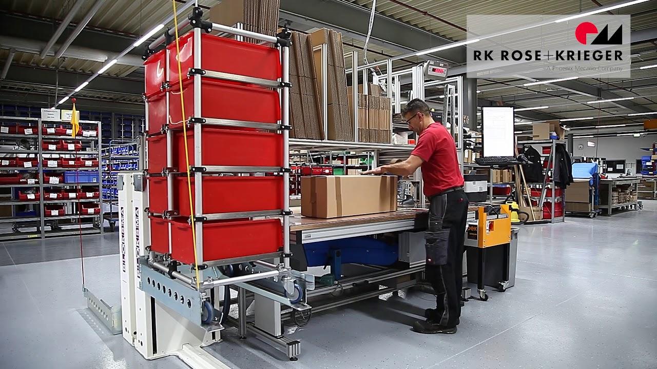 Table d 39 emballage poste d 39 emballage r glable en hauteur - Table de travail reglable en hauteur ...