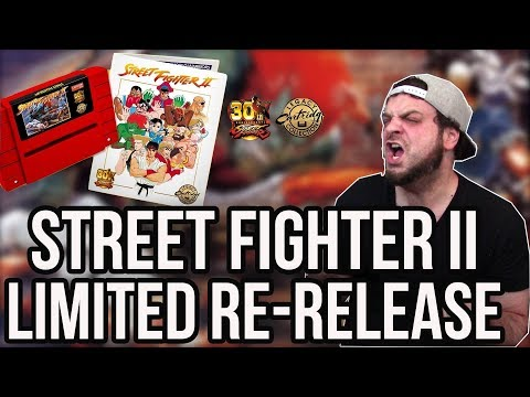Street Fighter II SNES Getting LIMITED RE-RELEASED CART! | RGT 85