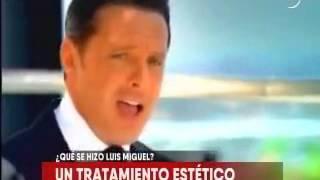 Tratamiento Estético de Luis Miguel, el Dr. Roberto Prado Opina