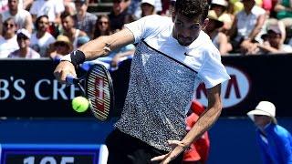 Marcos Baghdatis vs Grigor Dimitrov Highlights HD PART 1 Australian Open 2015