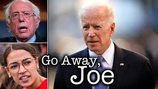 Bernie Sanders Backs Up Ocasio-Cortez After Joe Biden Downplays Her Success