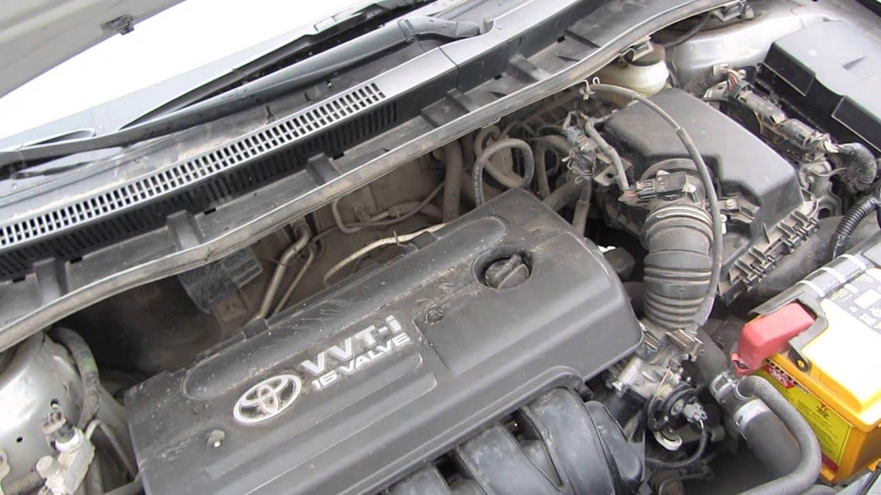 Газовые упоры капота Toyota Corolla