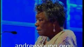 "Dr. Maya Angelou recites ""Still I Rise"""