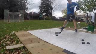 ccm ribcor trigger asy hockey shots and skills