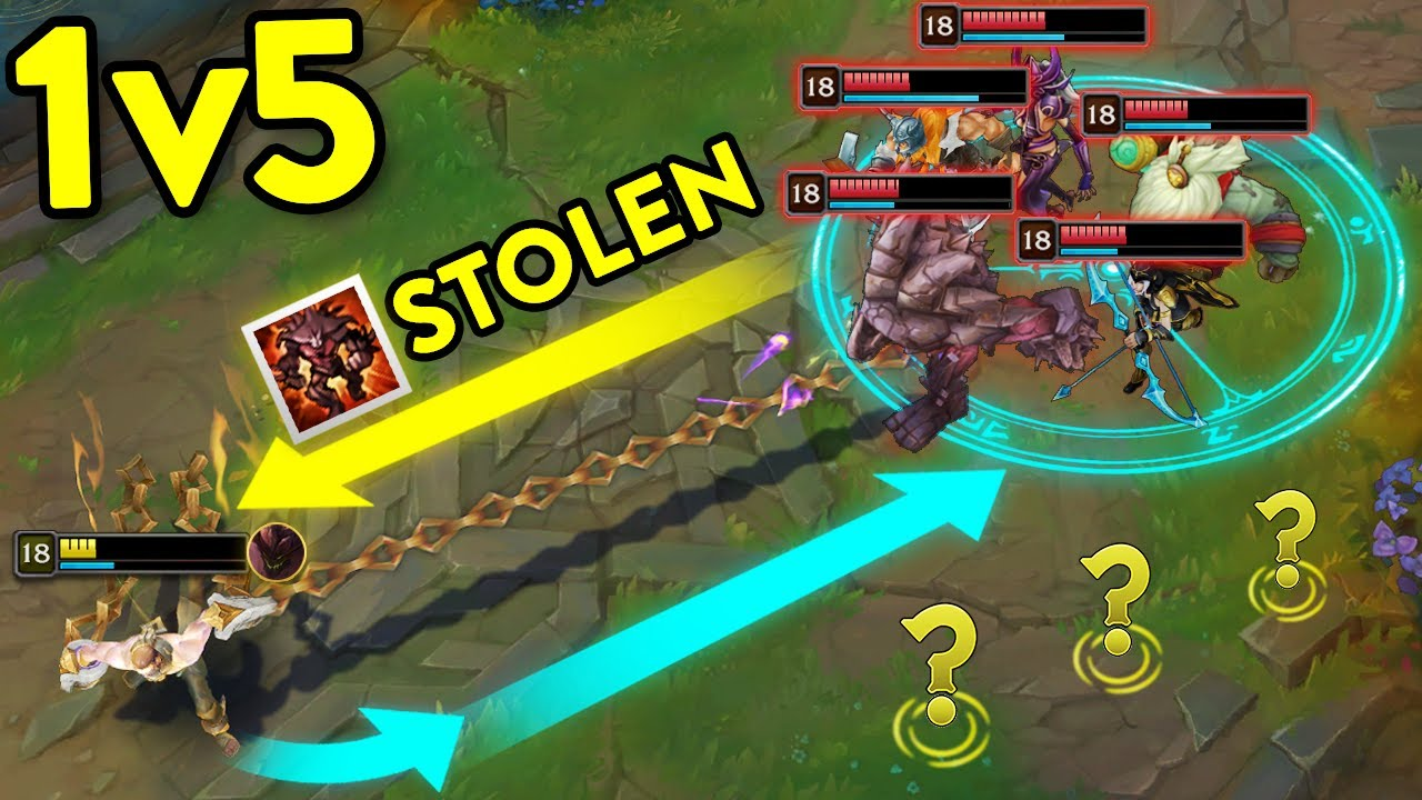 40 IMPOSSIBLE 1v5 OUTPLAYS IN LEAGUE OF LEGENDS