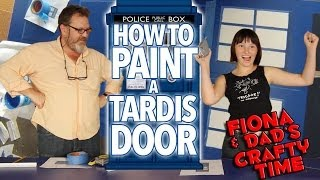 How to Paint a Tardis Door