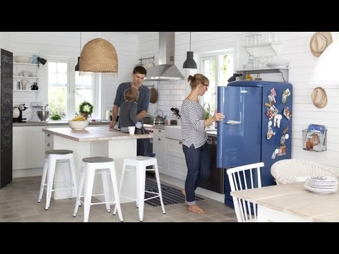 Easy update: IKEA lighting ideas for a Swedish-style home