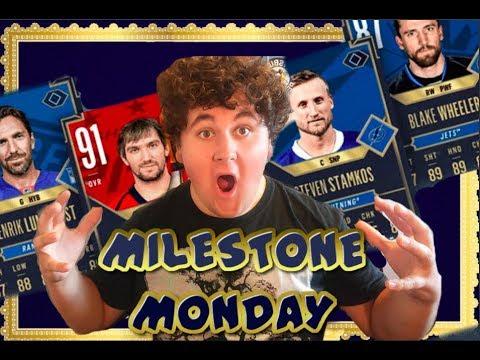 MILESTONE MONDAY  PACK OPENING!!
