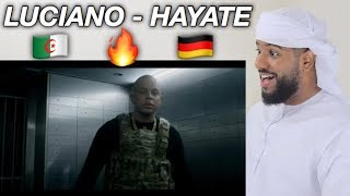 ARAB REACTION TO GERMAN RAP BY  LUCIANO - Hayate **UNEXPECTED**
