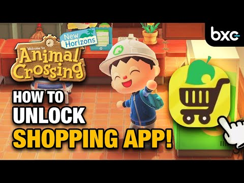 How To Unlock The Nook Shopping App In Animal Crossing New Horizons