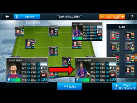 Import Lionel Messi's Real Face In Dream League Soccer 2018