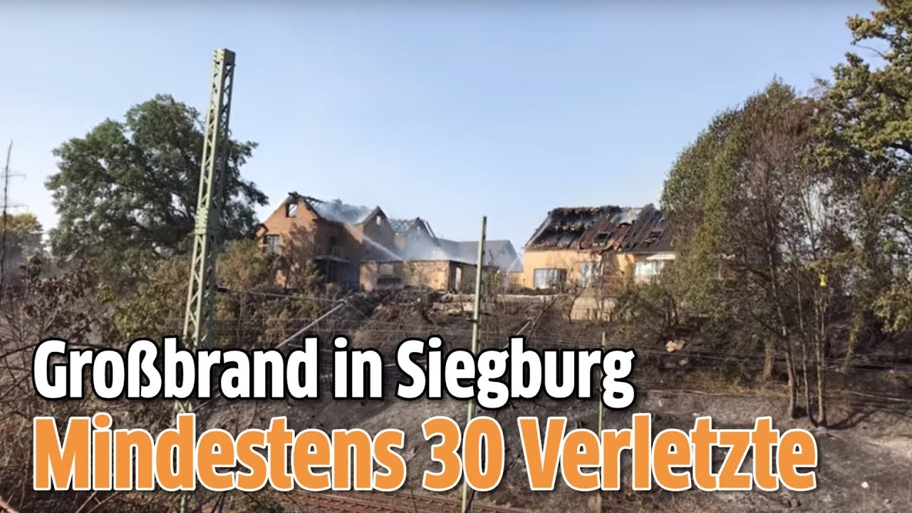 Siegburg Grossbrand