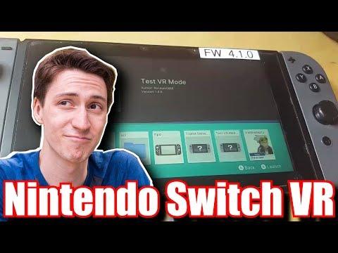 RUMOR Nintendo Switch VR Found