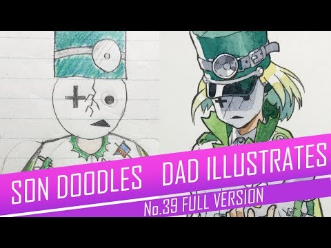 DRAWING with my kids - PILL BOY [FULL VERSION] No.39