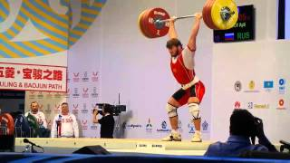 Dmitry Klokov training and WWC 85 kg in Almaty