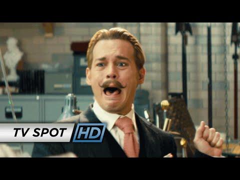 """Mortdecai (2015 Movie - Johnny Depp) Official TV Spot – """"Courageous"""""""