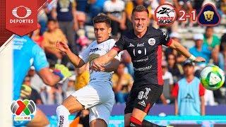 Resumen Lobos BUAP 2 - 1 Pumas | Clausura 2019 - Jornada 9 | Televisa Deportes