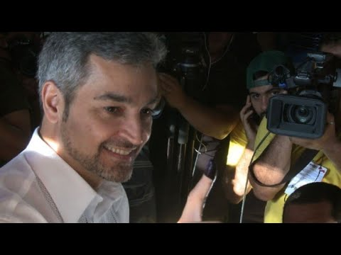 AFP news agency: Benitez casts his vote in Paraguay election