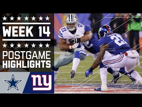 #9 Cowboys vs. Giants | NFL Week 14 Game Highlights