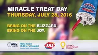 DQ #MiracleTreatDay 2016