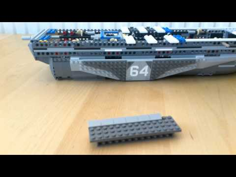 Lego Helicarrier Stop Motion
