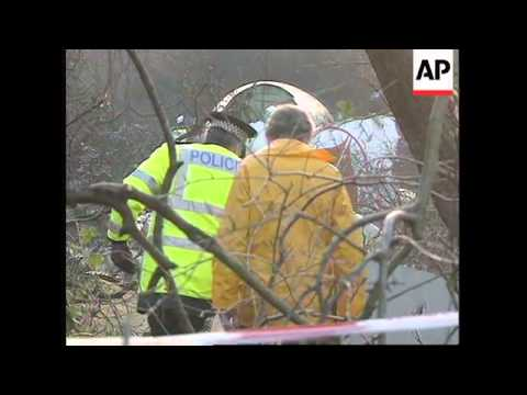 UK: COVENTRY: BOEING 737 CARGO PLANE CRASH