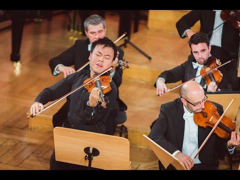 Luke Hsu plays Mozart and Bach - Stage 3 - International H. Wieniawski Violin Competition STEREO