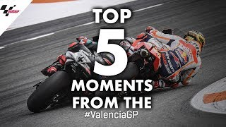2019 #ValenciaGP Top 5 Moments