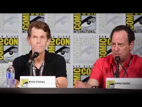 Loren Lester Nightwing  at Batman and Harley Quinn Premiere at SDCC