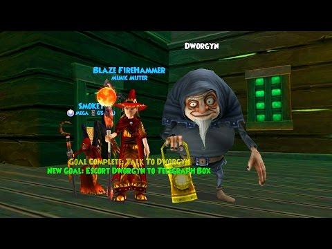 Wizard101: SAVING DWORGYN!