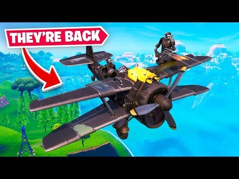 PLANES ARE BACK... oh no...