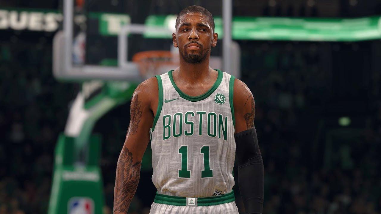 best service 31a22 07d36 NBA LIVE 18 New City Jerseys! Houston Rockets vs Boston Celtics - 2nd Half  - PS4 PRO 1080p - HD