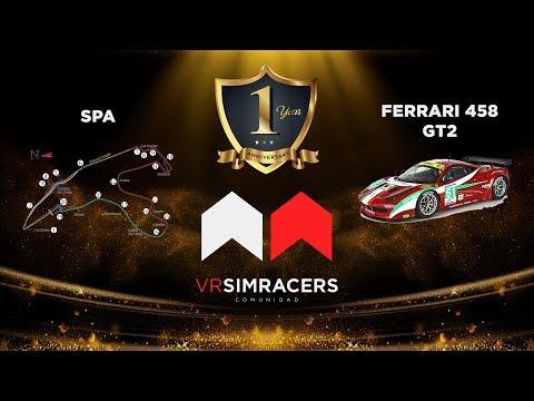 Assetto Corsa - EVENTO 1er ANIVERSARIO (Circuito SPA)  -Sin comentarios-