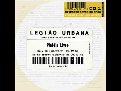 Legião Urbana - Ainda é cedo / Gimme shelter (ao vivo)