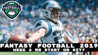 2019 Fantasy Football: Week 6 Running Backs - Start or Sit? (Every Match Up)