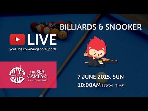 Billiards (Day 2) | 28th SEA Games Singapore 2015