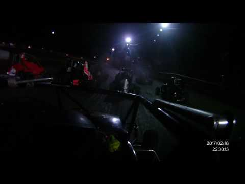 A class wing sprint feature @ superbowl speedway onboard Taco Casa 19j w/ Kieth Martin