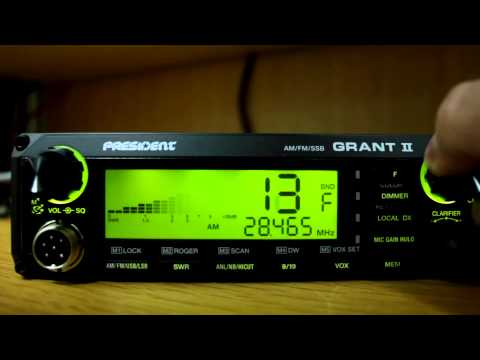 President Grant II AM/FM/SSB Frequency Modification