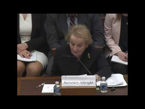 Albright on NATO expansion: Putin needs an enemy. 21 Mar 2017