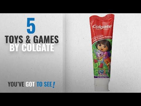 Top 10 Colgate Toys & Games [2018]: Colgate Dora The Explorer Fluoride Toothpaste, Mild Bubble Fruit