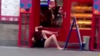 Лучшие приколы с пьяными девушками, смешное видео