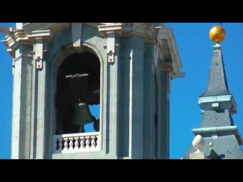 Almudena Cathedral Bells Ringing - Madrid, Spain