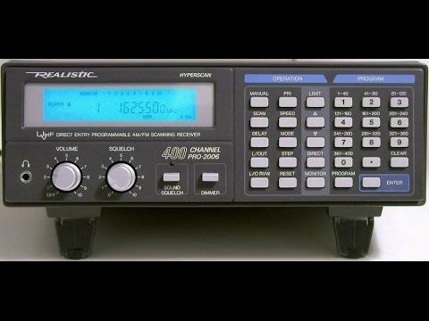 Pro 2006 400 Channel Hyperscan Scanner