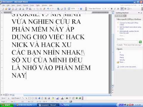 Phần mềm hack nick ,xu số 1 Việt Nam