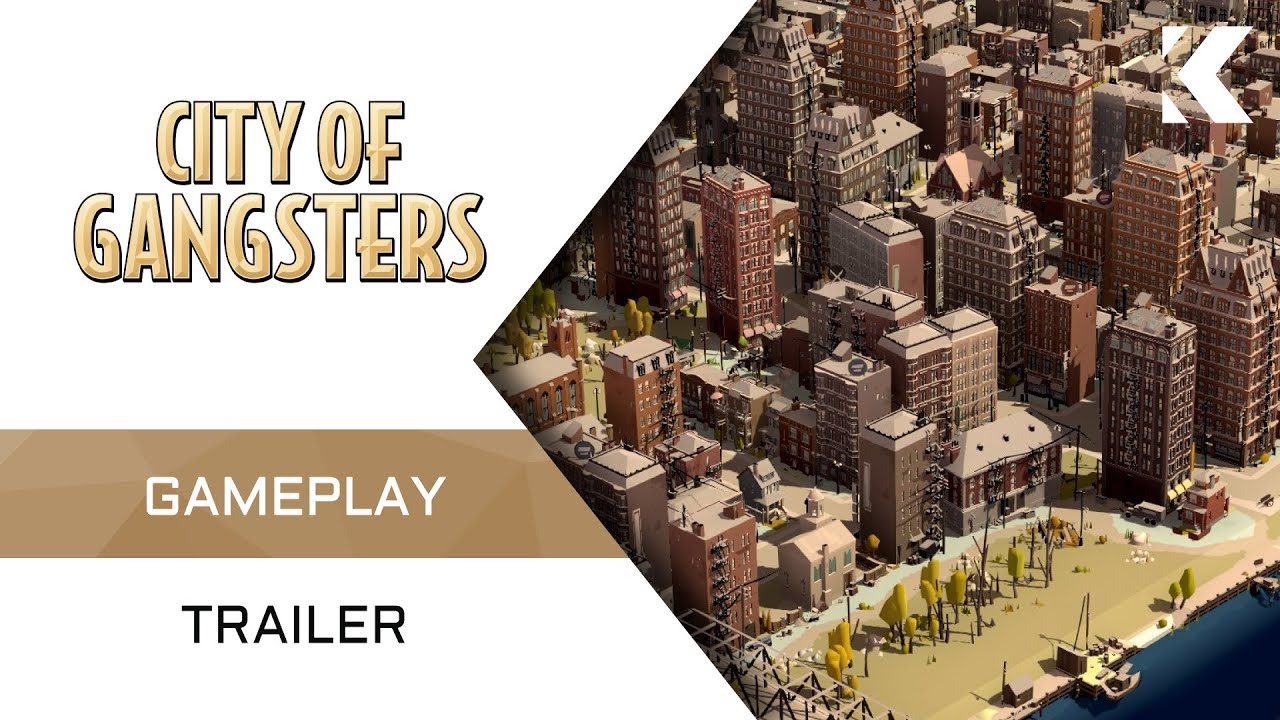An all-new gameplay trailer has been released for mafia management sim, City of Gangsters ahead of its August 9th release date.