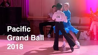 Pacific Grand Ball 2018, Ballroom Dance Competition in Palo Alto - 1st place!