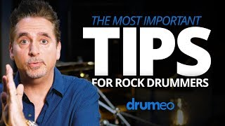 The Most Important Tips For Rock Drummers