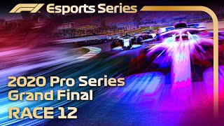 F1 Esports Pro Series 2020: FINAL RACE, Round 12