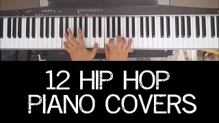 12 Hip Hop Piano Covers in Under 2 Minutes
