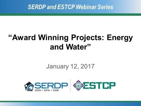 Award Winning Projects: Energy and Water